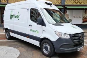 Harrods London electric van mercedes eSprinter